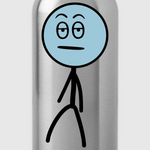 Annoyed Stickman, 2 colors T-Shirts - Water Bottle