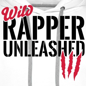 Wild rapper unleashes Long sleeve shirts - Men's Premium Hoodie