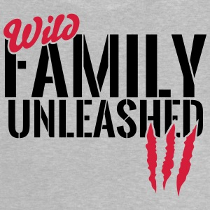 Vilde familie unleashed T-shirts - Baby T-shirt