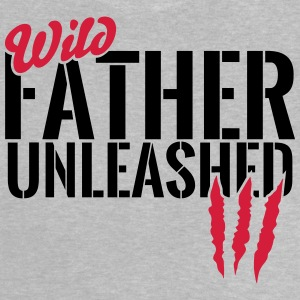 Unleashed vilde far T-shirts - Baby T-shirt