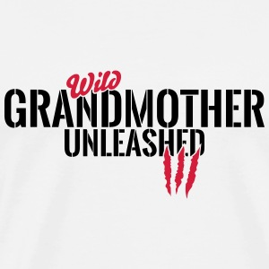 Wild Grandma unleashed Tops - Men's Premium T-Shirt