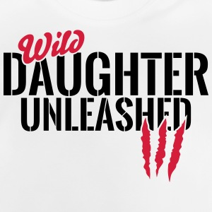 Vilde datter unleashed T-shirts - Baby T-shirt