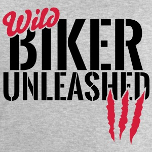 Wild biker unleashed Shirts - Men's Sweatshirt by Stanley & Stella
