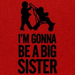 I'm gonna be a big sister baby car Camisetas - Gorra Snapback