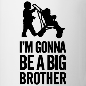 I'm gonna be a big brother baby car Hoodies - Mug