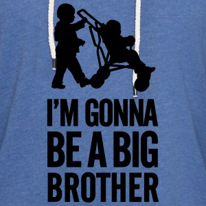 I'm gonna be a big brother baby car Shirts - Lichte hoodie unisex