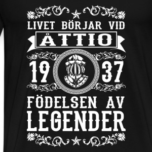 1937 - 80 ar - Legender - 2017 - SE Baby Bodysuits - Men's Premium T-Shirt