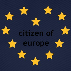 Citizen of Europe T-shirts - Basebollkeps