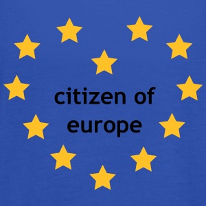 Citizen of Europe T-shirts - Dame tanktop fra Bella