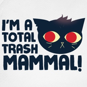 Hello, I am a Total Trash Mammal T-Shirts - Baseball Cap