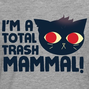 Hello, I am a Total Trash Mammal T-Shirts - Men's Premium Longsleeve Shirt