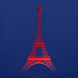 TOUR EIFFEL - ROUGE (Paris) - Tote Bag