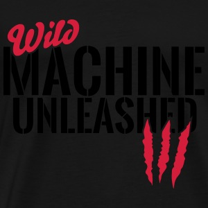 Wild machine unleashed Tops - Men's Premium T-Shirt