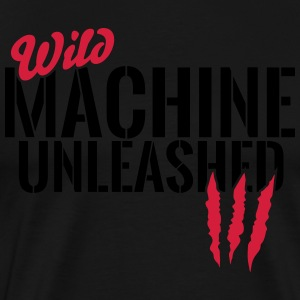 Wild machine unleashed Hoodies & Sweatshirts - Men's Premium T-Shirt