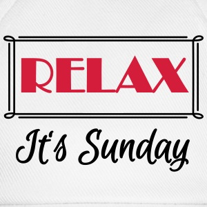 Relax! It's sunday Tee shirts - Casquette classique