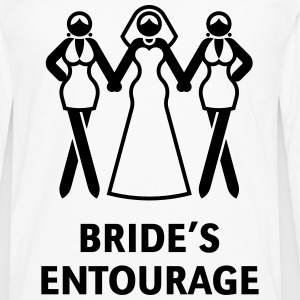 Bride's Entourage (Hen Night / Bachelorette Party) T-Shirts - Men's Premium Longsleeve Shirt
