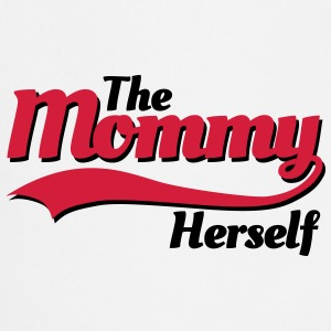 The mommy herself T-shirts - Keukenschort