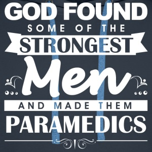 Paramedic God Found m T-Shirts - Men's Premium Hoodie
