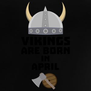 Vikings naissent en April Sxs00 Tee shirts - T-shirt Bébé