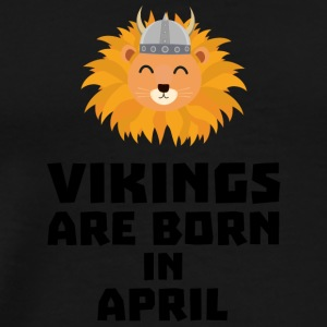 Vikings naissent en April Sxa47 Vêtements de sport - T-shirt Premium Homme