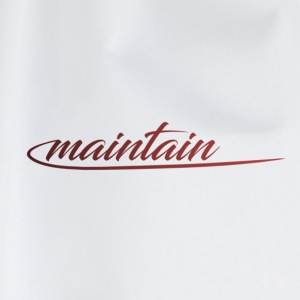 maintain - Turnbeutel