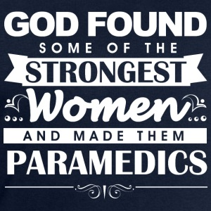 Paramedic God Found w T-Shirts - Men's Sweatshirt by Stanley & Stella