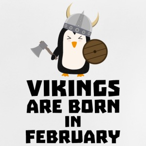 Vikings are born in February Sf393 Shirts - Baby T-Shirt