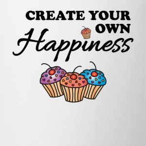 Create your own happiness Manches longues - Tasse