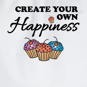 Create your own happiness Tee shirts - Sac de sport léger