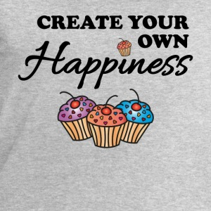 Create your own happiness T-shirts - Sweatshirt herr från Stanley & Stella