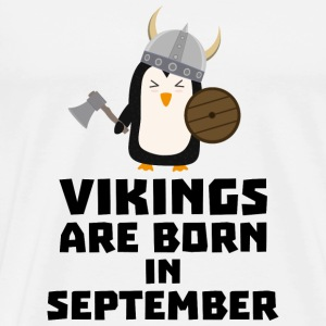 Vikings are born in September Szu23 Other - Men's Premium T-Shirt