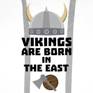 Vikings are born in the East Sxli7 T-Shirts - Men's Premium Hoodie