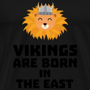 Vikings are born in the East S37dx Bags & Backpacks - Men's Premium T-Shirt