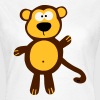 Shirt Little Monkey Affe Ape Party Fun Cute Cool - Koszulka damska