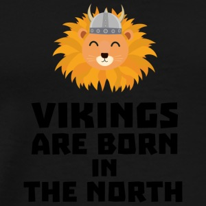 Vikings are born in the North S08u5 Sports wear - Men's Premium T-Shirt