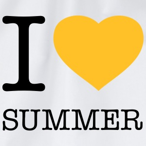 I LOVE SUMMER - Turnbeutel