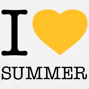 I LOVE SUMMER - Männer Premium T-Shirt