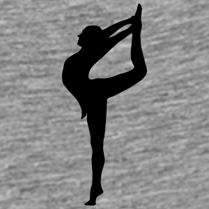 Yoga, Dancer, Gymnast Kasketter & huer - Herre premium T-shirt