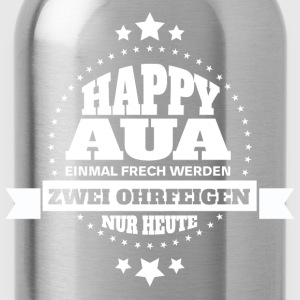 HAPPY AUA  T-Shirts - Trinkflasche