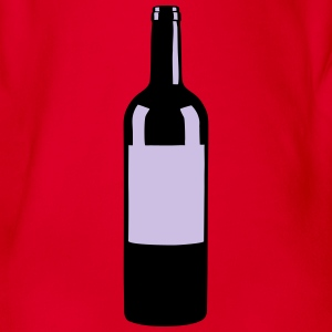 Wine Bottle Tee shirts - Body bébé bio manches courtes
