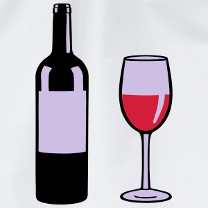 Wine Bottle T-shirts - Gymnastikpåse