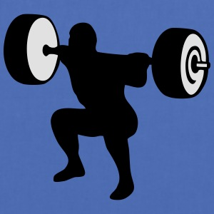 weightlifting, weightlifter, weight lifter T-shirts - Tygväska