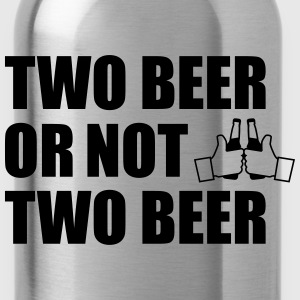 Two beer or not two beern Bier, - Trinkflasche