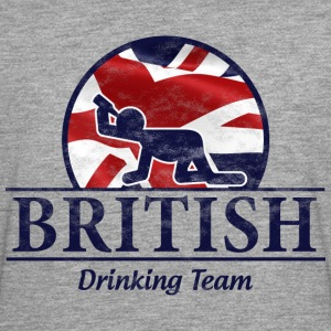 BRITISH DRINKING TEAM T-Shirts - Men's Premium Longsleeve Shirt