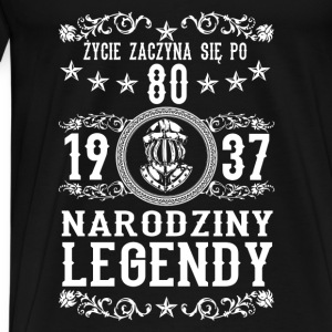 1937 - 80 lat - Legendy - 2017 - PL Baby Long Sleeve Shirts - Men's Premium T-Shirt