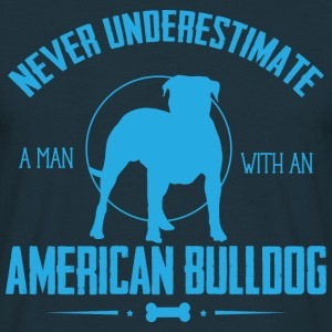 Dog American Bulldog NUM Hoodies & Sweatshirts - Men's T-Shirt