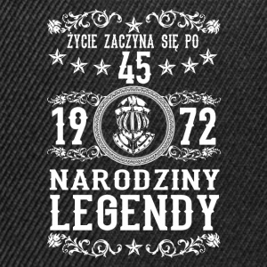 1972 - 45 lat - Legendy - 2017 - PL Sweat-shirts - Casquette snapback