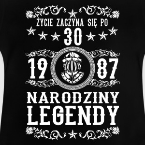 1987 - 30 lat - Legendy - 2017 - PL T-Shirts - Baby T-Shirt