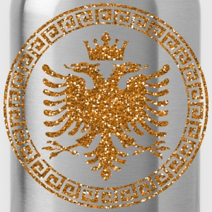 albanian_crown_m_gold T-Shirts - Trinkflasche