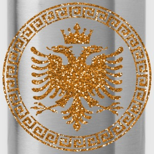 albanian_crown_m_gold Baby Bodys - Trinkflasche